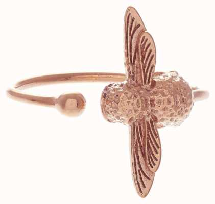 Olivia Burton   3D Bee   Rose Gold   Ring   OBJ16AMR02