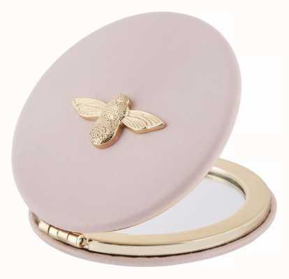 Olivia Burton   3D Bee   Blossom And Gold   Compact Mirror   OB16ACS02