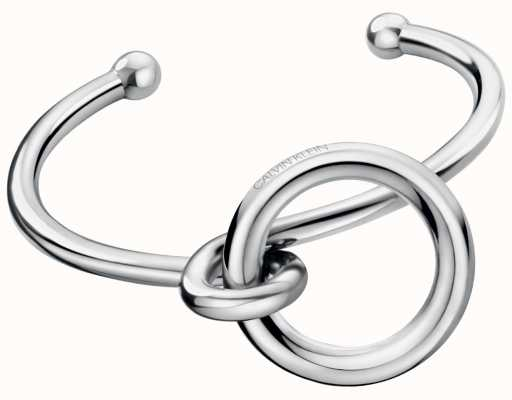 Calvin Klein | Womens Clink | Stainless Steel Open Bangle | KJ9PMF00010M