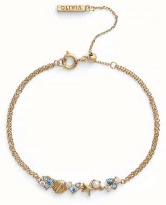 Olivia Burton   Under The Sea   Gold   Chain Bracelet   OBJSCB02