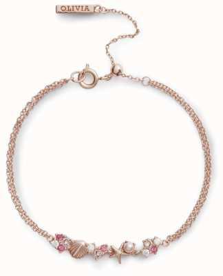 Olivia Burton   Under The Sea   Rose Gold   Chain Bracelet   OBJSCB03