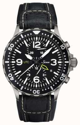 Sinn 757 UTC The Duo chronograph watch 757.011