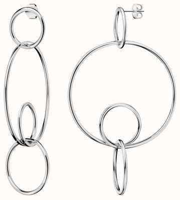Calvin Klein | Clink | Polished | Stainless Steel | Drop Earrings | KJ9PME000100