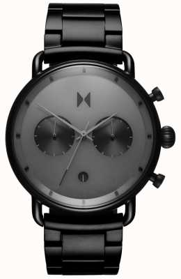 MVMT Blacktop Starlight Black | PVD Bracelet | Grey Dial D-BT01-BB