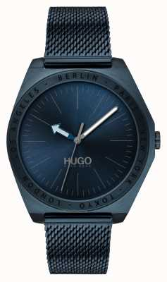 HUGO #Act | Blue IP Mesh | Blue Dial 1530109