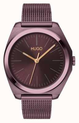 HUGO #Imagine | Aubergine IP Mesh | Aubergine Dial 1540027