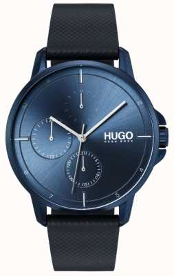 HUGO #focus | Blue Leather Strap | Blue Dial 1530033