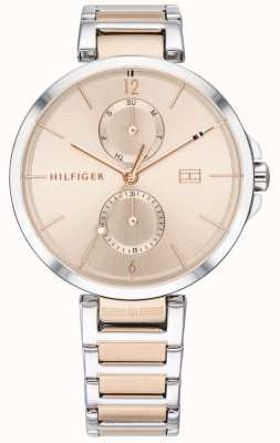 Tommy Hilfiger | Women's Two Tone Stainless Steel Bracelet | Blush Dial | 1782127