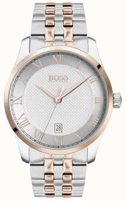 Boss | Men's Master | Two-Tone Stainless Steel | Silver Dial | 1513738
