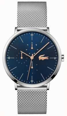 Lacoste | Men's Moon Multi | Steel Mesh Bracelet | Blue Dial | 2011024
