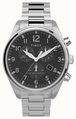 Timex | Waterbury Traditional Chrono 42mm | Stainless Steel TW2T70300