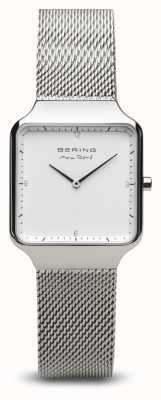 Bering   Max René   Women's Polished Silver   Steel Mesh Bracelet   15832-004