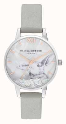 Olivia Burton | Womens | Winter Wonderland |  Snow Globe Crystal Bunny | OB16WL86