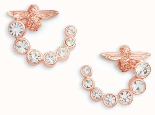 Olivia Burton   Bejewelled Bee Swirl   Swarovski   Earrings   OBJAME162