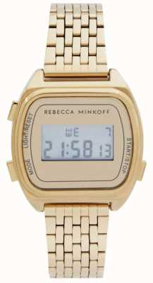Rebecca Minkoff | Womens | Digital | Gold Plated Stainless Steel 2200377