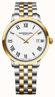 Raymond Weil   Men's Toccata   Two-Tone Stainless Steel   Silver Dial   5485-STP-65001
