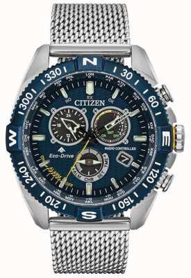Citizen Mens   Atomic Timekeeping   Promaster Navihawk A.T CB5846-52L