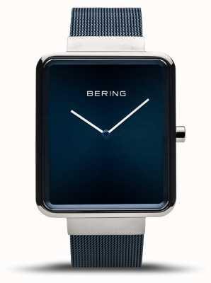 Bering   Men's Classic   Blue Mesh Bracelet   Blue Dial   14533-307