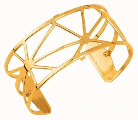 Les Georgettes 25mm Solaire Gold Plated Bangle 70316370100000