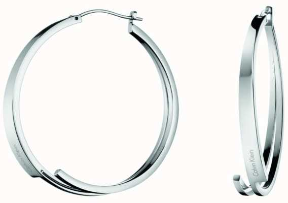 Calvin Klein Beyond | Stainless Steel Hoop Earrings | KJ3UME000100