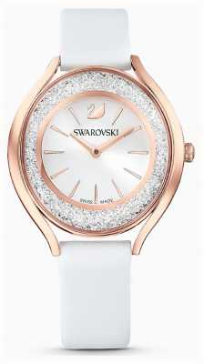 Swarovski | Womens | Crystalline Aura | White Leather Strap | 5519453