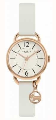 Radley | Women's White Leather Strap | Champagne Dial | RY2984