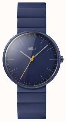 Braun Men's | Classic | Blue Ceramic Bracelet | Blue Dial BN0171NVNVG
