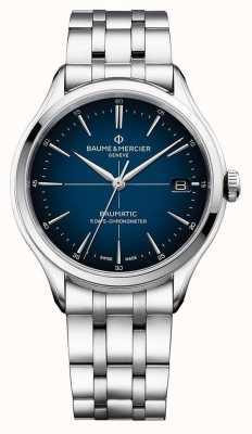 Baume & Mercier | Clifton Baumatic | Stainless Steel Bracelet | Blue Dial | M0A10468