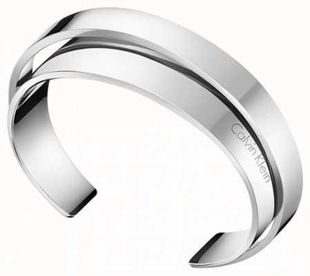 Calvin Klein | Unite | Stainless Steel Cuff Style Bangle | KJ5ZMF00010M