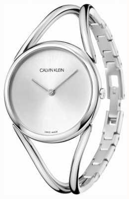 Calvin Klein | Lady | Stainless Steel Bracelet | Silver Dial | KBA23126