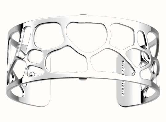 Les Georgettes 25mm Leopard Silver Finish Bangle 70346641600000