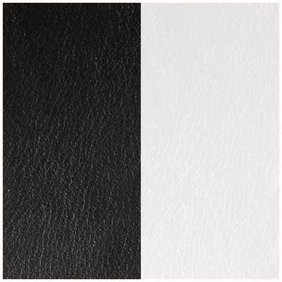 Les Georgettes 30mm Vinyl Insert   Earrings   Black/White 703218384M4000