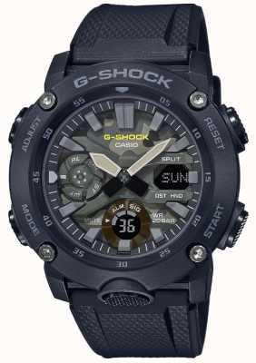 Casio G-Shock | Rubber Strap | Camouflage Dial GA-2000SU-1AER