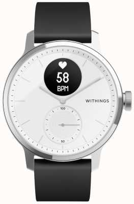 Withings Scanwatch 42mm - White HWA09-MODEL 3-ALL-INT