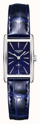 Longines Dolce Vita   Women's   Swiss Quartz   Blue Leather L52554932