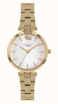 Radley West View | Gold-Tone Steel Bracelet | White Dial RY4512