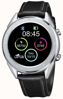 Lotus Men's | Smartime | Black Leather Strap + Free Strap 50008/3