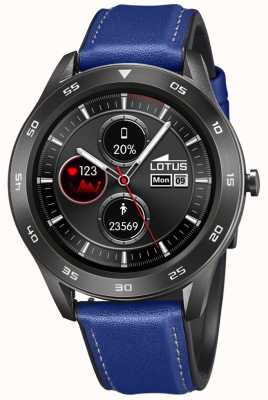 Lotus SmarTime | Men's | Blue Leather Strap + Free Strap | Ex-Display L50012/2EX-DISPLAY