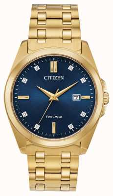 Citizen Corso Eco-Drive PVD Gold Plated Watch BM7103-51L