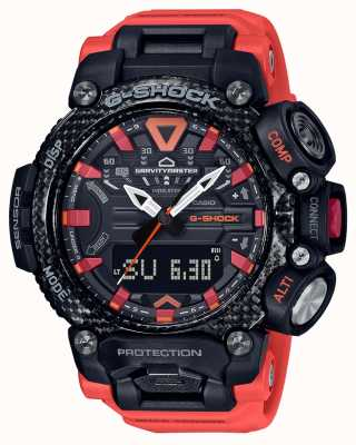 Casio G-SHOCK | Gravitymaster | Carbon Core | Bluetooth | Orange GR-B200-1A9ER