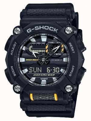 Casio G-SHOCK   Heavy Duty   World Time   Black Resin GA-900-1AER