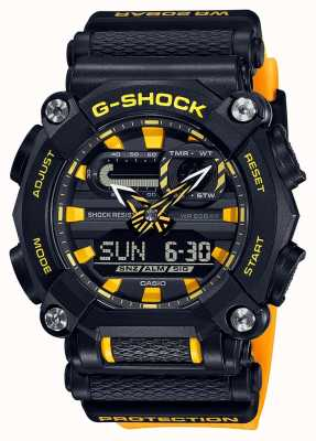 Casio G-SHOCK | Heavy Duty | World Time | Yellow GA-900A-1A9ER