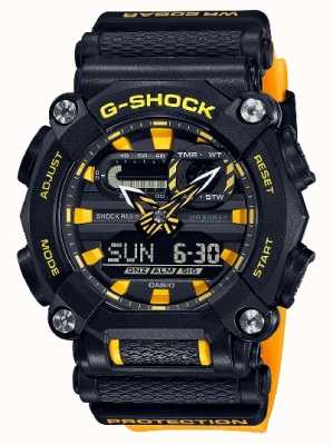 Casio G-SHOCK | LTD Edition | Heavy Duty | World Time | Yellow GA-900A-1A9ER