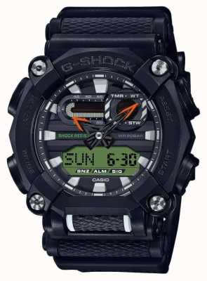 Casio G-SHOCK   LTD Edition   Heavy Duty   World Time   Black GA-900E-1A3ER