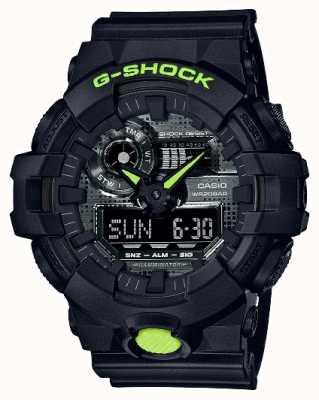 Casio G-SHOCK   Digital Camo   Black Resin GA-700DC-1AER