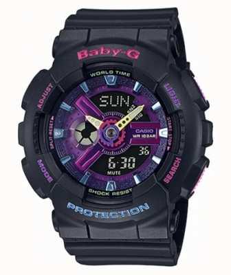 Casio Baby-G Decora Purple Detail Watch BA-110TM-1AER