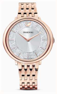 Swarovski Crystalline | Rose Gold Plated Steel Bracelet | Glitter Dial 5544590