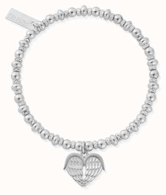 ChloBo Didi Sparkle Heavenly Heart Bracelet | Sterling Silver SBDS921
