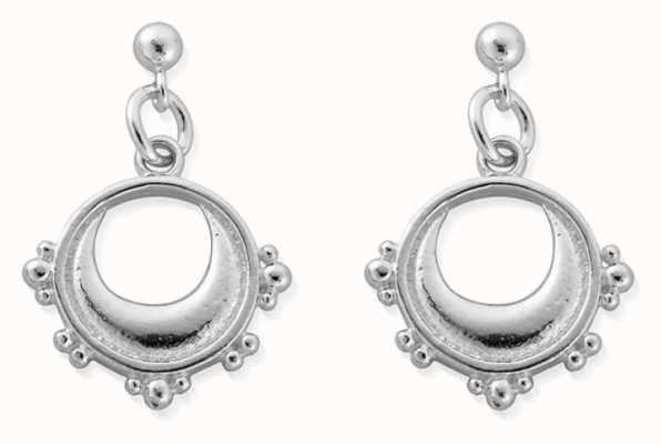 ChloBo Half Moon Drop Earrings | Sterling Silver SEST4005