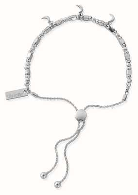 ChloBo Triple Moon Adjuster Bracelet | Sterling Silver SBA781